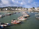 St. Ives Harbour, St. Ives, Cornwall, England, United Kingdom