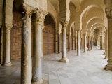 Mosque Okba (The Great Mosque), Kairouan, Unesco World Heritage Site, Tunisia, North Africa, Africa