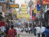Thamel, the Commercial Tourist Area, Kathmandu, Nepal