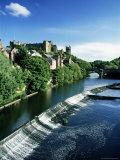 Durham Centre and River Wear, Durham, County Durham, England, United Kingdom