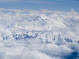 Mount Everest, Himalayas, Border Nepal and Tibet, China