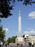Freedom Monument, Riga, Latvia, Baltic States