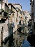 Canal Scene, Venice, Veneto, Italy