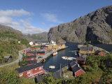 Nusfjord, Flakstadoya, Lofoten Islands, Norway, Scandinavia