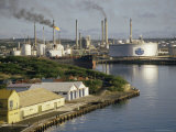 Oil Refinery, Willemstad, Curacao, West Indies, Central America