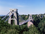 Clifton Suspension Bridge, Bristol, Avon, England, United Kingdom