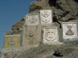 British Army Insignia, Khyber Pass, Pakistan