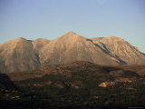 San Sasso Peaks from Tagliacozzo, Abruzzo, Italy