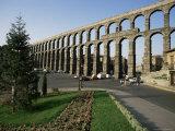 Roman Aqueduct, Segovia, Unesco World Heritage Site, Castilla Leon, Spain