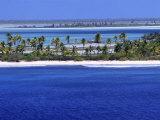 Aerial View of Christmas Island, Kiribati