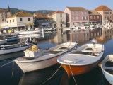 Morning Calm in the Harbour, Starigrad, Hvar Island, Central Dalmatia, Croatia