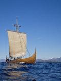 Gaia, Replica Viking Ship, Norway, Scandinavia