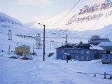 Longyearbyen, Spitsbergen, Norway, Scandinavia