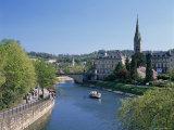 River Avon and the City of Bath, Avon, England, United Kingdom
