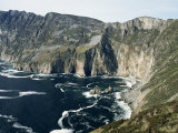 Slieve League Sea Cliffs, Rising to 300M, County Donegal, Ulster, Eire (Republic of Ireland)