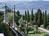 Isola Bella, Completed in 1670 for Count Borromeo, Lake Maggiore, Piedmont, Italy