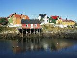 Fishing Village of Henningsvaer, Lofoten Islands, Nordland, Norway, Scandinavia