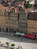 Town Square (Rynek), Wroclaw, Silesia, Poland