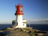 Lindesnes Fyr Lighthouse, on South Coast, Southernmost Point of Norway, Norway, Scandinavia