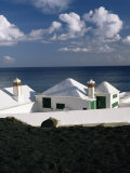 Beach Houses, Lanzarote, Canary Islands, Spain, Atlantic