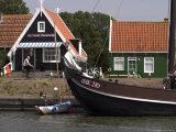 Marken, a Fishing Village, Netherlands (Holland)