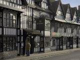 Half Timbered Shakespeare Hostelry, Stratford Upon Avon, Warwickshire, England