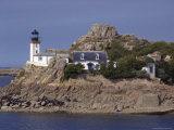 Pen Al Lann Point (Pointe De Pen-Al-Lann) Lighthouse, Carentec, Finistere, Brittany, France