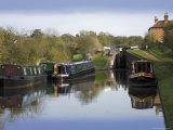 Top Lock, the Tardebigge Flight of Locks, Worcester and Birmingham Canal, Worcestershire