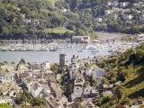 River Dart Estuary, Dartmouth, South Hams, Devon, England, United Kingdom