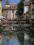 Canal, Medieval Town, Annecy, Haute-Savoie, Rhone-Alpes, France
