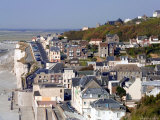 Seaside Resort Town of Ault, Picardy, France