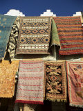 Carpets for Sale Outside Shop in Frontier Town of Agdz, Morocco, North Africa, Africa