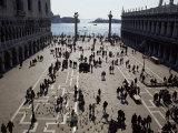 The Piazzetta, Venice, Veneto, Italy