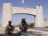Gate to Khyber Pass at Jamrud Fort, Pakistan
