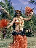 Hula Dance in Kapiolani Park, Waikiki, Hawaii, Hawaiian Islands, USA