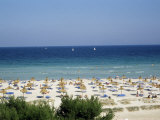 Beach in Alcudia, Majorca, Balearic Islands, Spain, Mediterranean