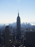 The Empire State Building and Manhattan Skyline, New York City, New York, USA