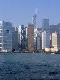 Skyline, Central, Hong Kong Island, Hong Kong, China
