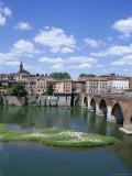 The Town of Albi, Tarn River, Tarn Region, Midi Pyrenees, France
