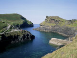 Boscastle Harbour, Cornwall, England, United Kingdom