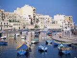 St. Julians Bay, Malta, Mediterranean