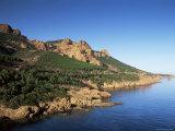 Esterel, Cote d'Azur, Provence, France, Mediterranean