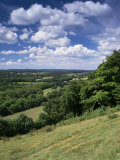 View from the North Downs Near Dorking, Surrey, England, United Kingdom