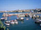 Harbour, Newquay, Cornwall, England, United Kingdom