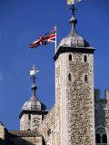 White Tower, Tower of London, Unesco World Heritage Site, London, England, United Kingdom