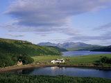 Loch Harport and the Cuillin Hills, Isle of Skye, Highland Region, Scotland, United Kingdom