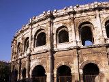 Roman Arena, Nimes, Gard, Languedoc-Roussillon, France