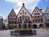 Justice Fountain, Romer, Frankfurt Am Main, Germany