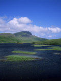 Loch Fada and the Storr, Isle of Skye, Highland Region, Scotland, United Kingdom