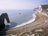 Durdle Door and Bats Head, Dorset, England, United Kingdom